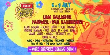 Line up Exit Festivala 2017
