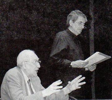 Ivo Brešan i Pero Mioč 2002. godine (Foto: Jozica Krnić)