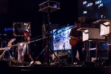 Noise koncert prvog šahtofonskog benda u Kinu SC (Foto: Ivan Gundić)