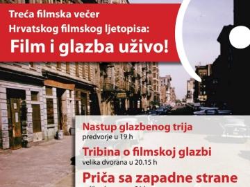 'Film i glazba uživo!' u Kinu Tuškanac