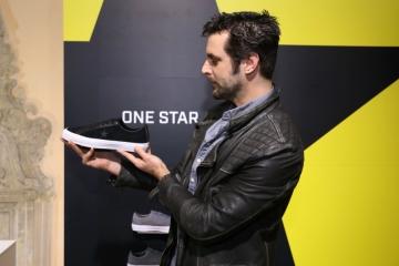 Pjevač Boris Štok na predstavljanju nove linile Converse All Stars u Opatiji