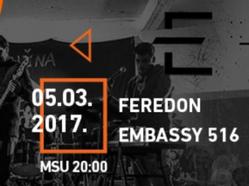 Feredon i Embassy 516 gostuju na MIMO-u u Gorgoni