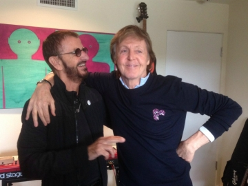 Ringo Starr i Paul McCartney (Foto: Twitter)