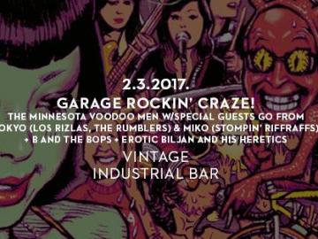 Garage Rockin' Craze! u Vintage Industrial Baru