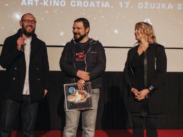Leri Ahel, Željko Luketić i Ksenija Prohaska na riječkom predstavljanju soundtracka  (Foto: Tanja Kanazir)