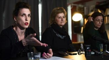 Vanda Volić. Ljiljana Perišić i Diana Nenadić - 26. Dani hrvatskog filma