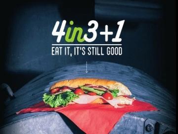 4in3+1 'Eat It, It's Still Good'