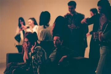Predstavljanje albuma 'Vanilija' u Galeriji Miroslav Kraljević (Foto: Denis Komljenović)