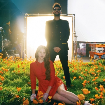 Lana Del Ray ft. Weeknd 'Lust For Love' (Universal promo foto)