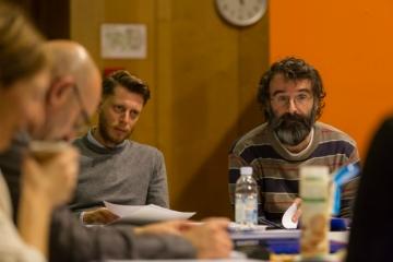Ante Perković tijekom rada na drami 'Cijankalij §218'