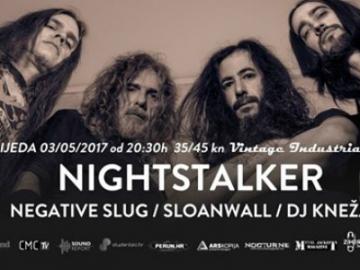 Nightstalker, Negative Slug i Sloanwall u Vintage Industrial Baru