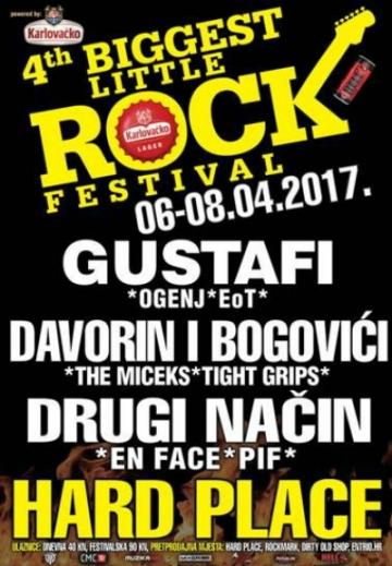 4th Biggest Little Rock Festival u Hard Placeu