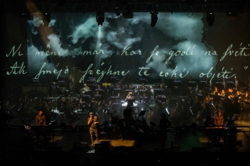 Laibach na Križankama 2016. (Foto Miro Majcen)