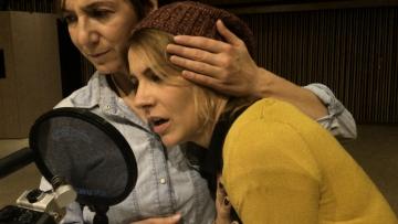Daria Lorenci Flatz u ulozi Majke Fent i Tihana Lazović u ulozi Hete (Foto: Montažstroj)