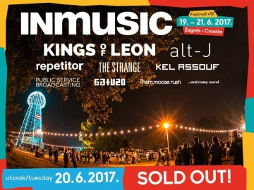 Rasprodan 2. dan INmusic festivala