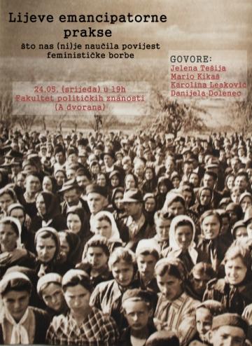Lijeve emancipatorne prakse - što nas (ni)je naučila povijest feminističke borbe