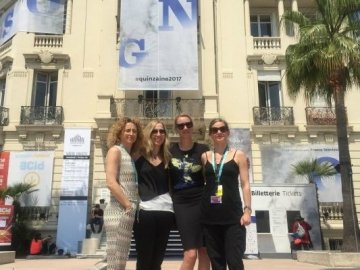 Ekipa filma 'Trešnje' u Cannesu