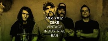 Zeke u Vintage Industrial Baru