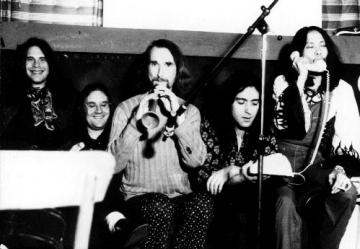 Grupa Can snimljena 1971. godine, Damo Suzuki je prvi s desna (Foto: Wikipedia)