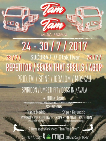 TAM TAM Festival u Šučurju na Hvaru