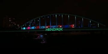 'Hendrixov most' nakon 'uređenja' (Izvor: Youtube)