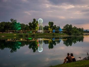INmusic festival na zagrebačkom jezeru Jarun