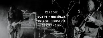Egypt i Hrmülja u Vintage Industrial Baru