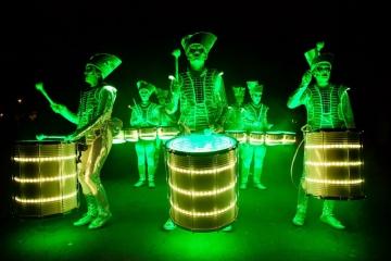 Led drummers (Foto: Dan Brady)
