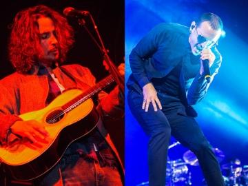 Chris Cornell (Foto: Marko Jadro) i Chester Bennington (Foto: Roberto Pavić)
