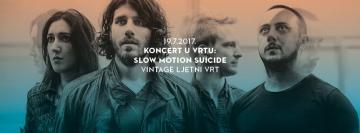 Slow Motion Suicide u Ljetnom vrtu Vintage Industrial Bara