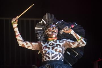 Grace Jones na otvorenju Dimensions festivala u Areni u Puli (Foto: Vedran Metelko)