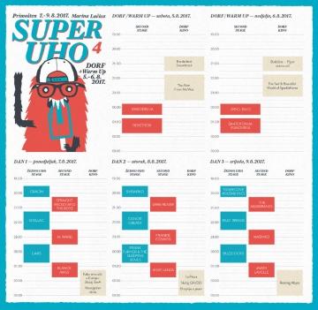 Satnica 4. SuperUho festivala