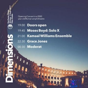 6. Dimensions festival