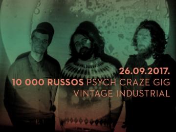 10 000 Russos u Vintage Industrial Baru