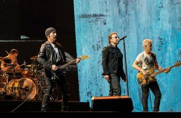 U2 snimljeni na Joshua Tree turneji 2017. godine (Foto: Wikipedia)