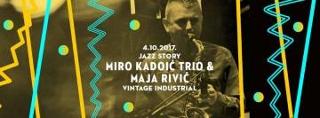 Maja Rivić i Miro Kadioć Trio u Vintage Industrialu