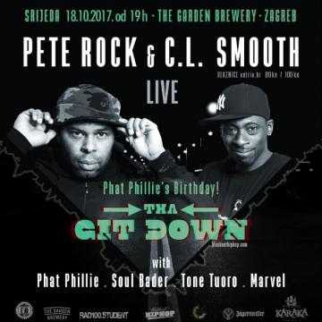Pete Rock & C. L. Smooth u The Garden Breweryju