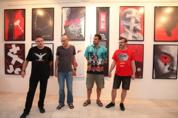 Četiri jahača FALIŠ-a: Imamović, Filipović Grčić, Krištofić i Lokotar (Foto: Jozica Krnić)