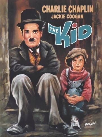 'Mališan' (The Kid) - plakat iz 1921. godine