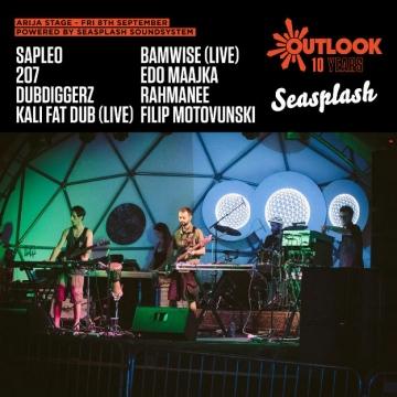 Seasplash Soundsystem će tijekom cijelog Outlook festivala razglasom obogaćivati Arija pozornicu