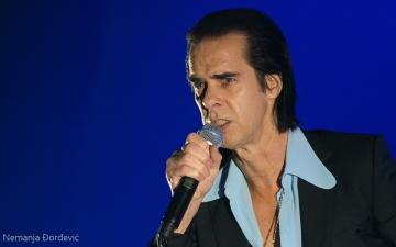 Nick Cave (Snimljeno na koncertu u Beogradu - Foto: Nemanja Đorđević/Balkanrock.com)