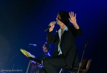 Nick Cave And The Bad Seeds (Snimljeno na koncertu u Beogradu - Foto: Nemanja Đorđević/Balkanrock.com)
