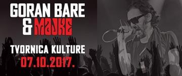 Goran Bare & Majke u Tvornici kulture