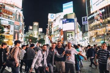 Frenkie, Kontra i Indigo u Tokiju (Foto: Mario Ilić)
