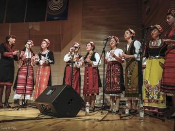 Zvjezdan Ružić Sextet, ft. Neli Andreeva & Nusha choir - Muzička akademija (Foto: Ranko Tintor Fiko)
