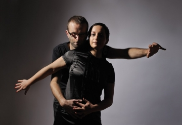 Katarina Juvančič i Dejan Lapanja (Foto: Janez Pelko)