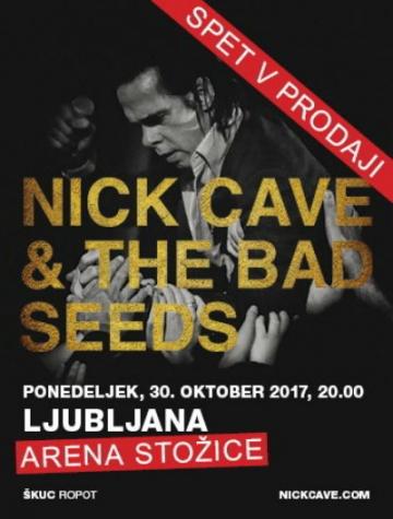 Nick Cave & The Bad Seeds u Areni Stožice
