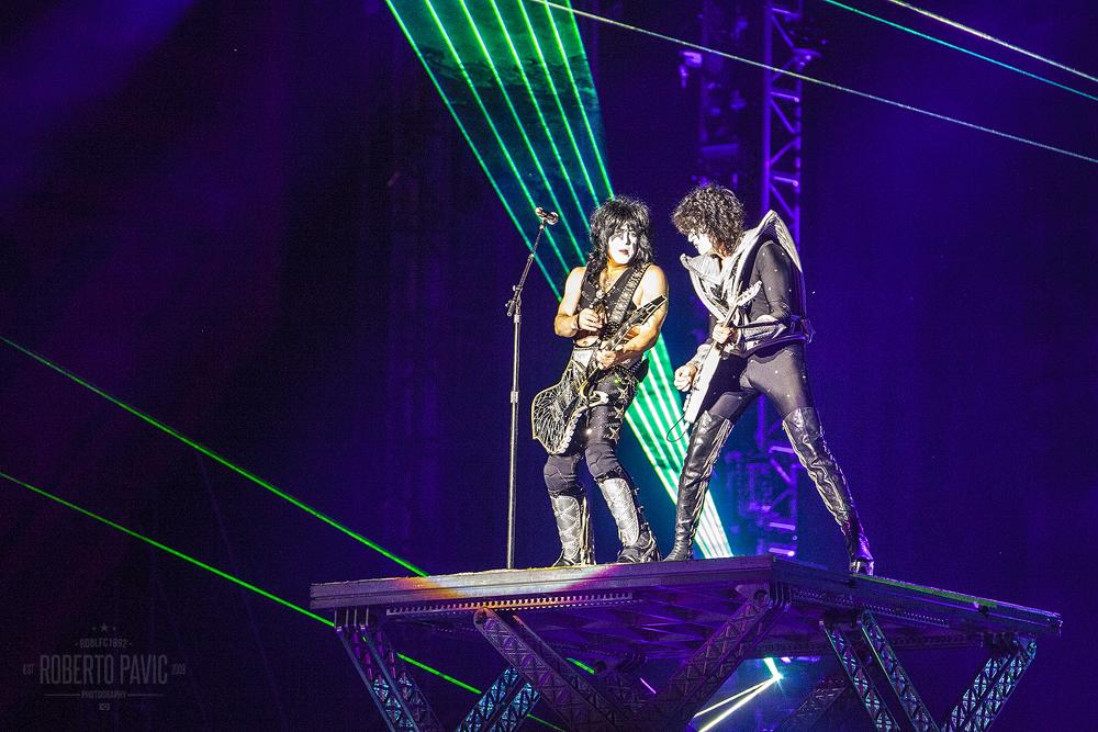 Kiss na Rock In Vienna (Foto: Roberto Pavić)