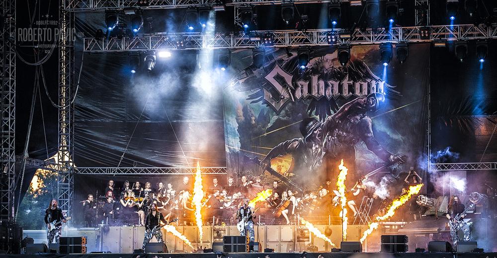 Sabaton na Rock In Vienna (Foto: Roberto Pavić)
