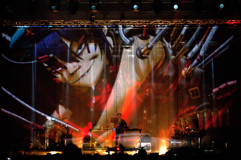Gorillaz Sound System na INmusic Festivalu (Foto: Tomislav Sporiš)
